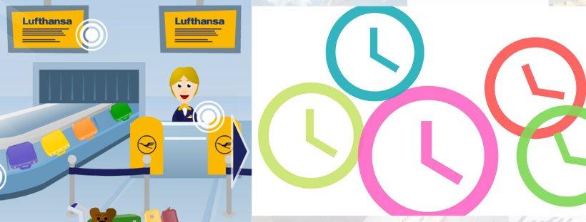 Ritardo volo Lufthansa