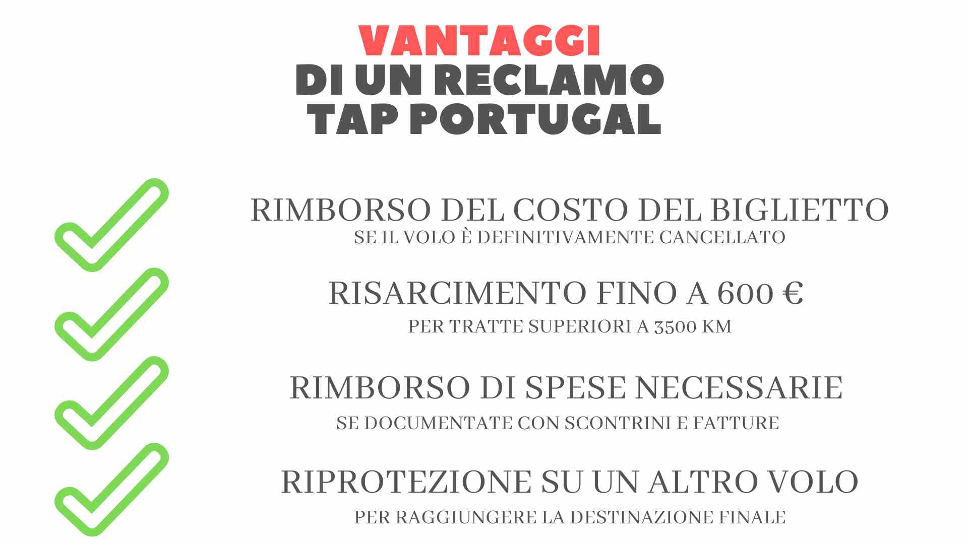 Vantaggi di un reclamo Tap Portugal