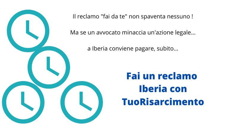 Chiedere rimborso iberia con reclamo on line