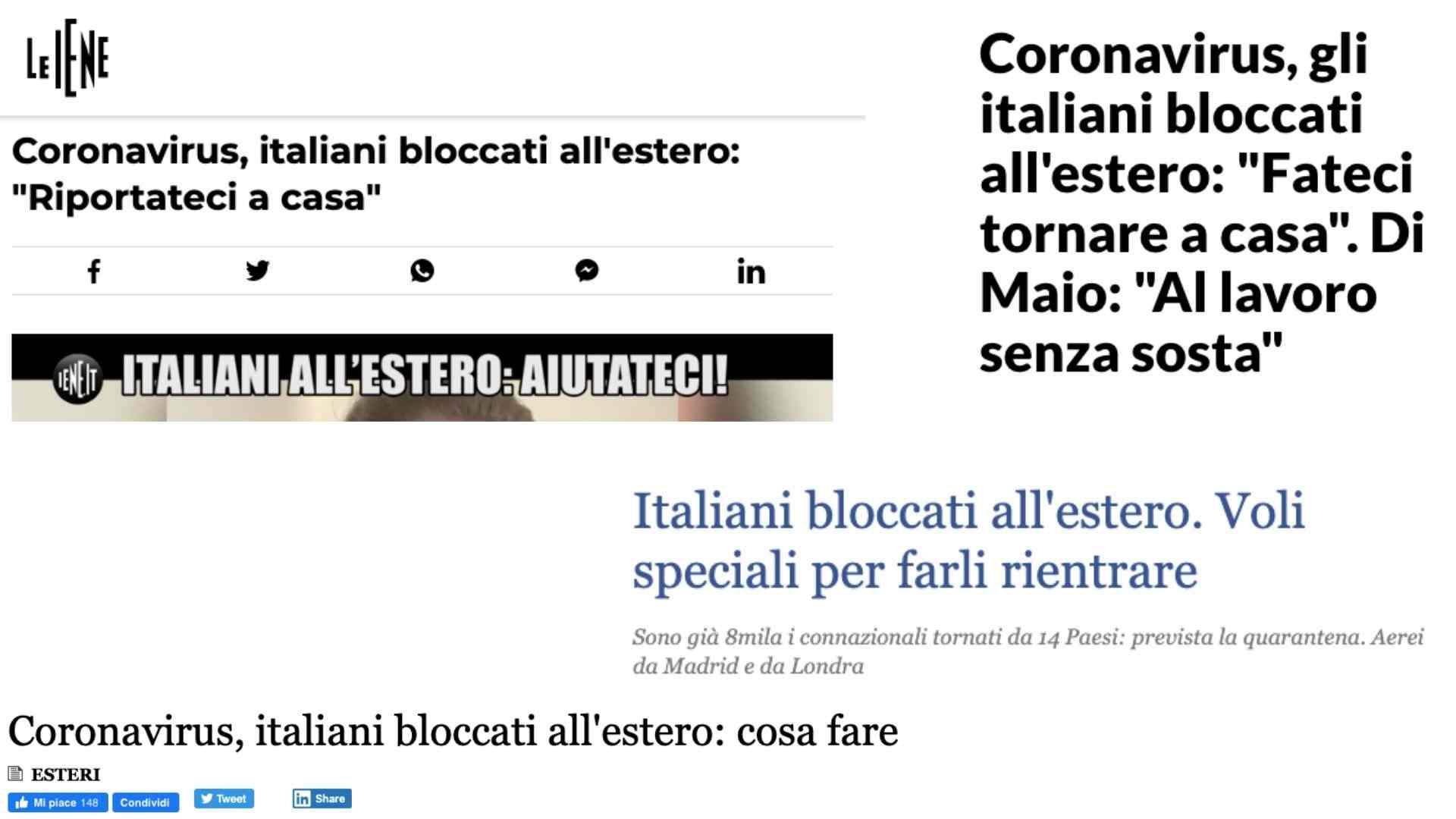 Italiani-bloccati-estero-coronavirus